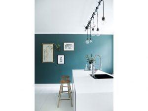 Cucina-parete-colorata