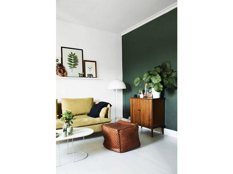 Pareti Salotto Verde : Pareti colorate sfumature di creativita